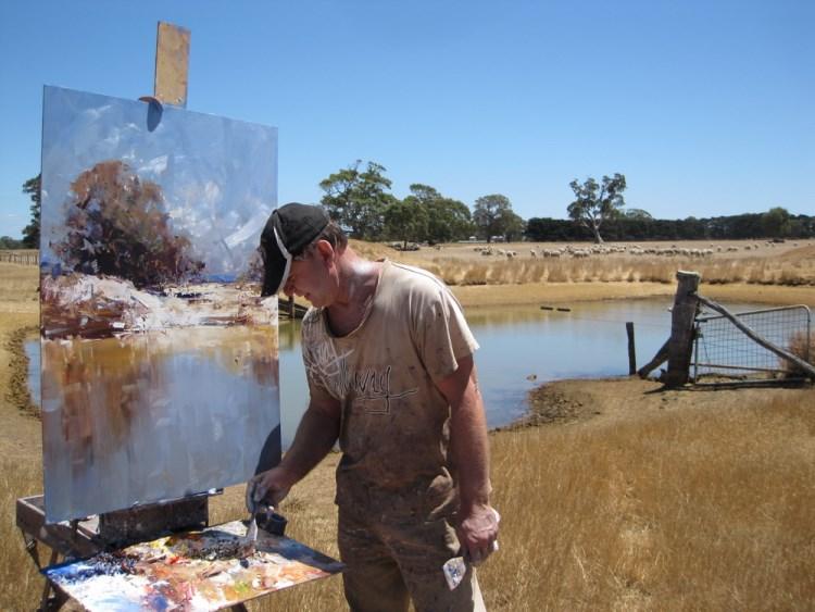 Ken Knight Artist Paintings